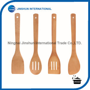 5PCS Cooking Baking Utensil Bamboo Sets pictures & photos