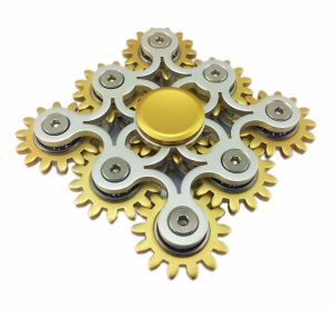 Nine-Gear Linkage Metal Fidget Hand Spinner pictures & photos
