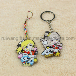 Acrylic Keychains Custom, Cartoon Printed Acrylic Keychain for Promotion Gift pictures & photos