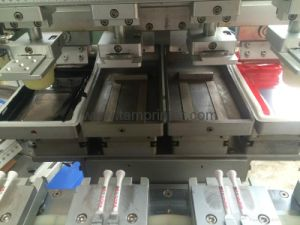 4-Color Ink Cup Conveyor Pad Printing Machine (TM-C4-CT) pictures & photos