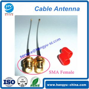 SMA-K to Ipex Lvds RF Cable Antenna pictures & photos