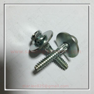 Class 8.8 Zinc Plated Hex Head Bolt with Big Flat Washer pictures & photos