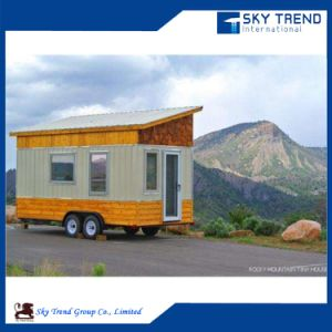 Flat Packed Container Camping Trailer for Living pictures & photos