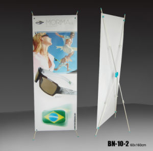 Cheap Price X Banner Stand Advertising Display Rack (BN-10-2) pictures & photos
