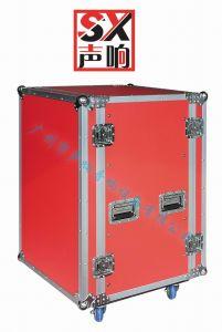 Aluminum Flight Case AMP Mounted Rack pictures & photos