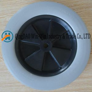 Solid PU Wheel Used on Hand Cart Tyre (10*1.75) pictures & photos