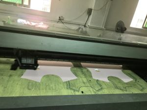 Screen Digital Flatbed Printer for Color Fabrics Direct Printing pictures & photos