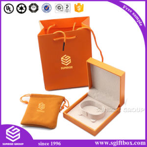Orange Color Paper Jewelry Box Bag Packaging Bracelet pictures & photos