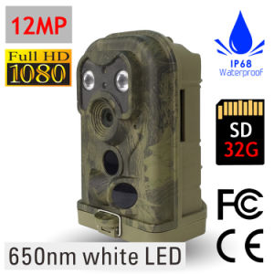 High Quality White Flash Digital Waterproof Hunting Trailing Camera pictures & photos