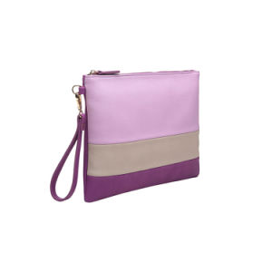 Designer Brand Contrast Color Fashion Clutch Bag (MBNO042108) pictures & photos
