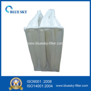 HVAC Nonwoven Pocket Bag Filter of F5 Efficiency pictures & photos