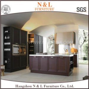 American Style Home Furniture Solid Wood Kitchen Cabinets pictures & photos