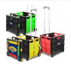 Lightweight Mobile Strong Plastic Shopping Basket pictures & photos