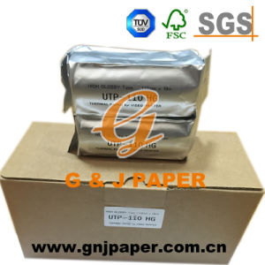 Competitive Price 110mm*20m STP-110hg Thermal Paper for Ultrasoud Thermal Printer pictures & photos
