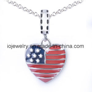 Fashion Hot Sale USA Flag Charm Promotion Jewelry pictures & photos