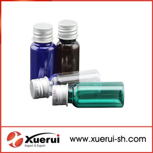 15ml Plastic Pet Bottle with Screw Cap for Cosmetic pictures & photos