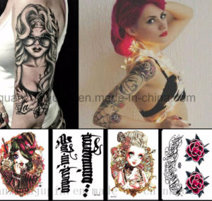 Custom Various Water Proof Arm Whole Temporary Tattoo Sticker pictures & photos