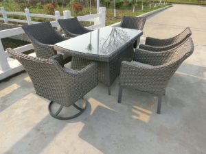 10mm Half Moon Curve Flat Wicker Furniture pictures & photos
