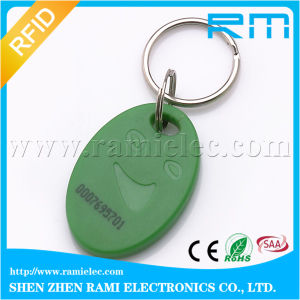 13.56MHz Writable RFID Key Tag Keyfob ISO14443A M1 S50 F08 Writable pictures & photos