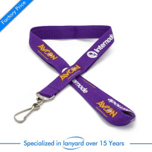 Wholesale Flat Polyester Lanyard for Staff pictures & photos