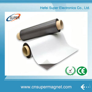 Isotropic Flexible Manufacturer Strong Rubber Magnets with Colorful Roll Sheet pictures & photos
