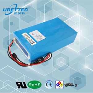 Hot Sale High Power Capacity 48V/26ah Lithium Battery for E-Vehicle pictures & photos