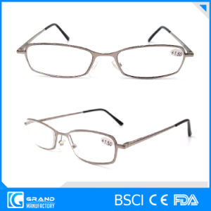 Classical Style Optimum Optical Magnetic Metal Reading Glasses pictures & photos