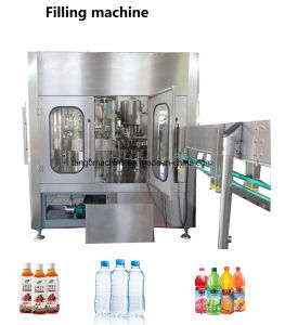 2017 New Technology Flavored Energy Drinks Pet Bottle Washing Filling Capping 3-in-1 Unit Machine pictures & photos