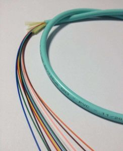 144 Core Sm/mm Indoor Bundle Fiber Optical Cable pictures & photos