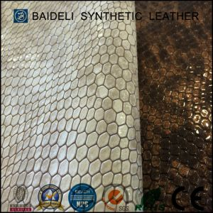 Fashion Design PVC Artificial Leather for Bag and Sofa Furniture Upholstery pictures & photos