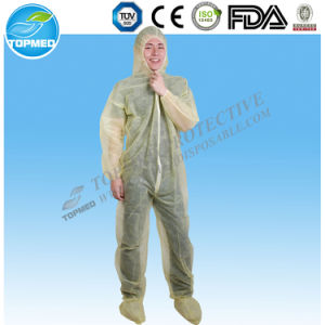 Disposable Nonwoven Jumpsuit, Protective SMS Jumpsuits pictures & photos
