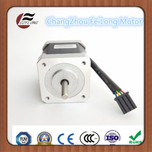 Quality NEMA17 1.8 Deg Stepping Motor with Ce for CNC pictures & photos