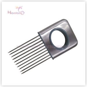 Fruit Vegetable Meat Tool Stainless Steel Onion Holder Onion Fork Cutter Slicer pictures & photos