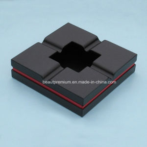 Customized Square Shape Eco-Friendly Shatterproof Cigar Silicone Ashtray BPS0196 pictures & photos