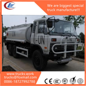 Un 4X4 4WD 6wheels Sanitation Water Tank Sprinkler Truck pictures & photos