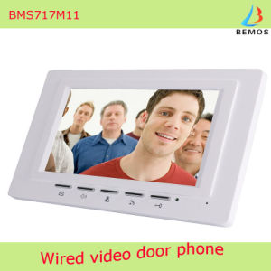 7 Inch Video Door Phone Doorbell Intercom Kit with 1-Camera 1-Monitor pictures & photos