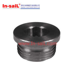 DIN908 Wholesale Flanged Hexagon Socket Screw Plugs of Pipe Fitting pictures & photos