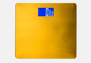 Stainless Steel 200kg Personal Scale with Large LCD pictures & photos
