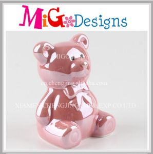 Wholesale Cute Pink Pig Ceramic Piggy Bank Home Decor pictures & photos