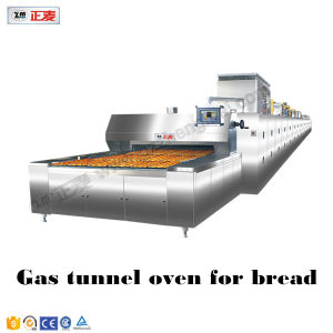 Industrial Small Baking Biscuit Bread Pizza Bakery Gas Tunnel Oven for Sale (ZMS-2M) pictures & photos