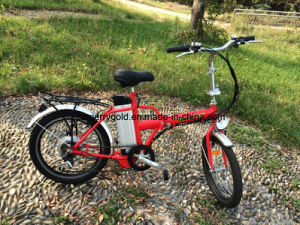 Small Folding Ebike Lightweight Electric Bicycle pictures & photos