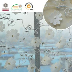 Wholesale Hand Tulle Light Color Flower Wedding Embroidery Lace Fabric for Dress pictures & photos