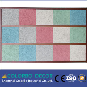 Interior Decorative Wood Wool Panel Acoustic Board pictures & photos