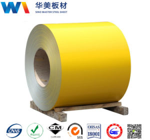 Color Coated Steel/Prime Prepainted Galvanized Steel Coil/PPGI pictures & photos