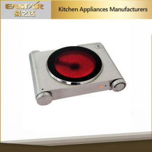 GS A13 Double Burner Stainless Steel Glass Ceramic Stove Infrared Cooker pictures & photos
