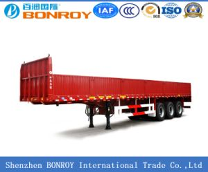 Evergrand 3-Axle Side Wall Semi-Trailer pictures & photos