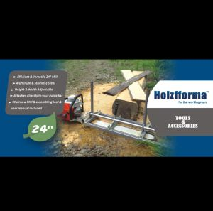 "Chainsaw Mill From 14"" to 24"" Guide Bar Holzfforma pictures & photos"