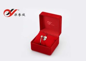 Rectangle Red Velvet Jewelry Box Set pictures & photos
