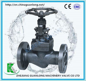 ANSI/ASME Forged Globe Valve (GLZ41X) Flange End pictures & photos