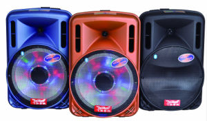 Colorful 12inch Battery Speaker Box with Amplifier Bluetooth F12-1 pictures & photos